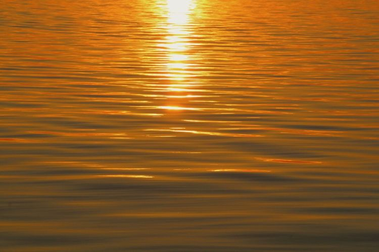 Water Reflection Sunset Rippled No People Waterfront Outdoors Close-up Day Dailyphoto Beauty