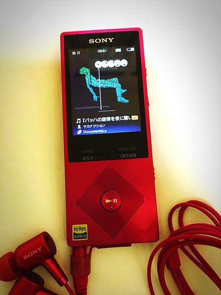 Music Sony Walkman Highreso my necessities.(^-^) i love music:) Sakanaction