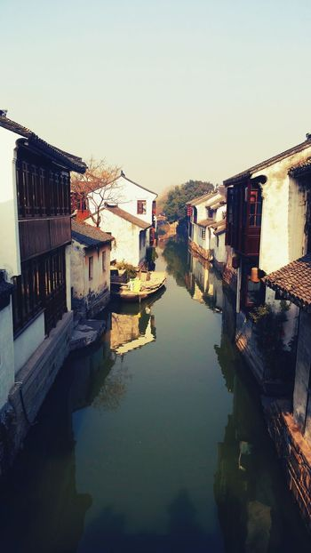 Zhouzhuang water town Travel Photography Travelgram China Water_collection Water Reflections Rowboat Zhouzhuang