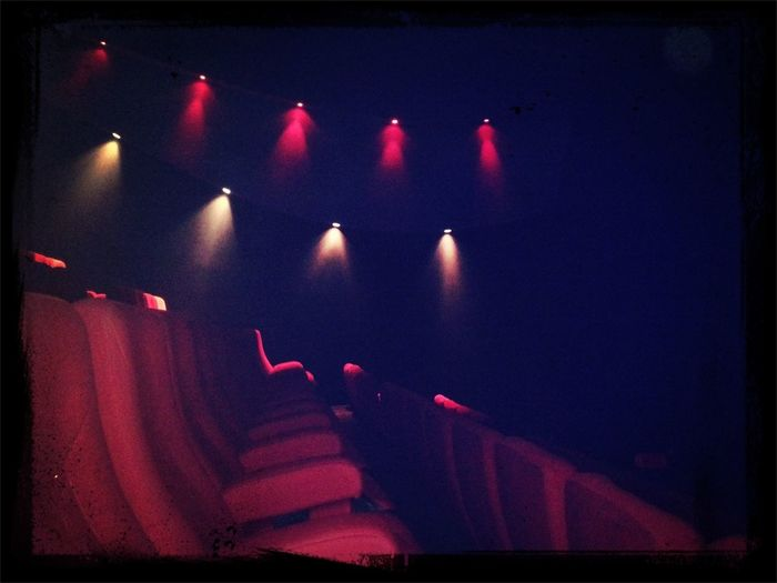 empty theatre... all this just for me :)