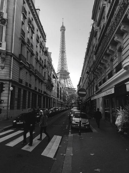 Paris Urban Geometry Blackandwhite Black And White Black & White Cityscapes Architecture Enjoying The Sun Shootermag Open Edit Street Photography Streetphotography Eye4photography  EyeEm Best Shots EyeEm Masterclass Eiffel Tower