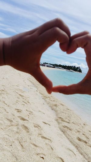 Island Love!!! Feel The Moment Kalanggaman Beachaholic Vitaminsea Islandgirl Ivyenturer IvyEntures2016