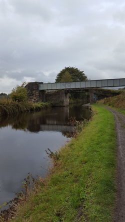 Canal Water Green Way Bridge