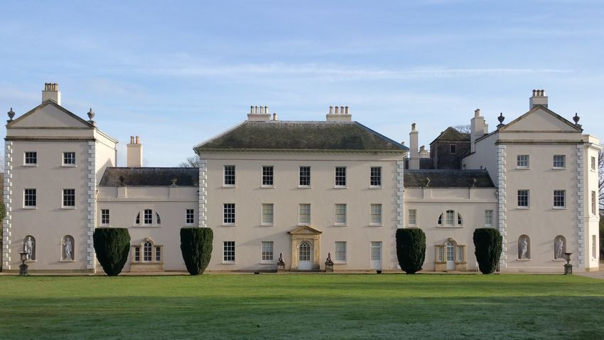 Saltram House Plymouth Devon Building Exterior Outdoors Day No People
