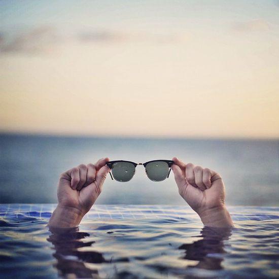 ??✌Rayban Clubmaster Pool Beach elsalvador