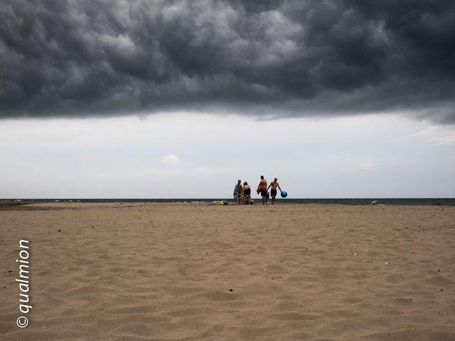 Dark Dark Clouds Dark Sky Land Light Nature Perspective Rain Reflection Sky And Beach Sky And Clouds TunderStorm Beach Clouds Group Of People Light And Shadow Outdoors Rainy Season Sand Sandy Beach Sea Sky Tunder Tunderlight