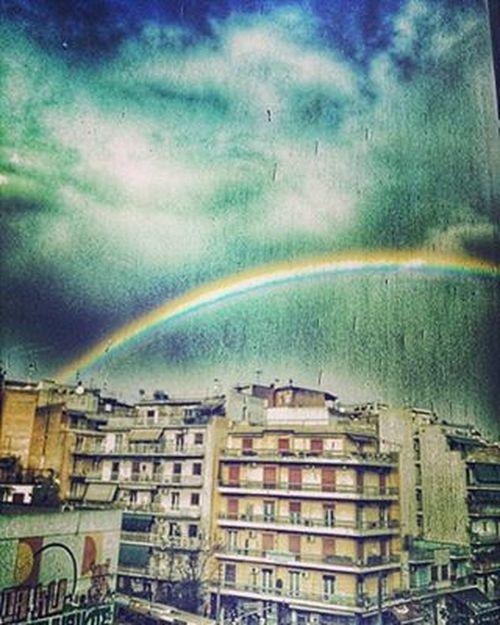 Κυψέλη θα πει. {colorful world} 🌈🎈 κυψέλη αθηνούλα RainyDay RainyFriday Rainbow Colours Coloursareeverywhere Colourfulworld Skyporn Buildings Clouds Raindrops Inlovewiththisday Loveisintheair Breath VSCO Vscocam Vscolove Vscomood Vscorainy Vscofridays Vscosky Vscorainbow Instagreece Instaathens instamood instagood instalifo instapic instaphile