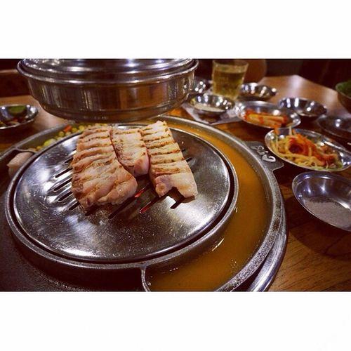 烤肉 韩国 姜虎东