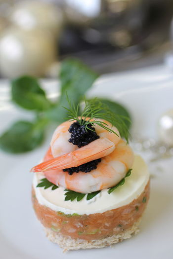 Caviar Dill Festlich Food Food And Drink Freshness Lachstatar Table