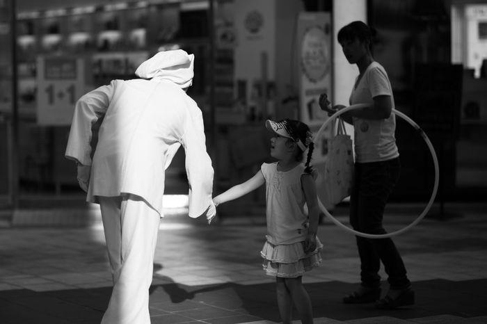Pantomime Mesenapolis Seoul, Korea Full Length Real People Standing Indoors  Day People
