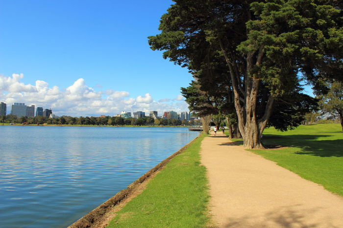 Albert Park Melbourne Albert Park Albert Park Lake Australia City City Life Melbourne City Travel Architecture Australia & Travel Beauty In Nature Built Structure Day Grass Green Color Growth Lake Melbourne Nature Outdoors Scenics Sky Travel Destinations Tree Water The Great Outdoors - 2018 EyeEm Awards