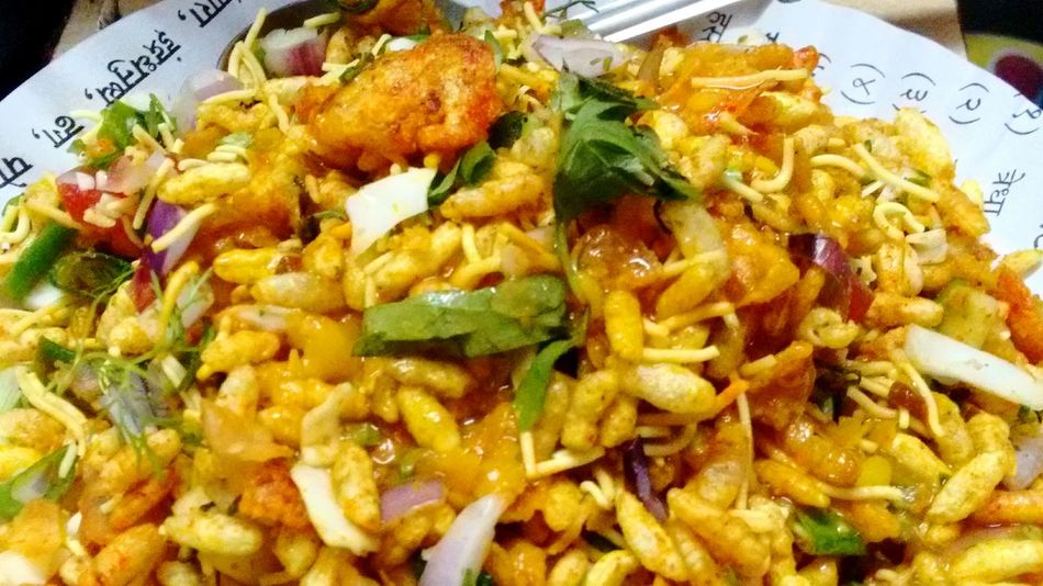 Food Porn Awards Indian_heritagedish Chaupati Chat Bheal As Spicy As It Looks Home Madedish Best Summer Snack Tasteslikeheaven My Fav♡