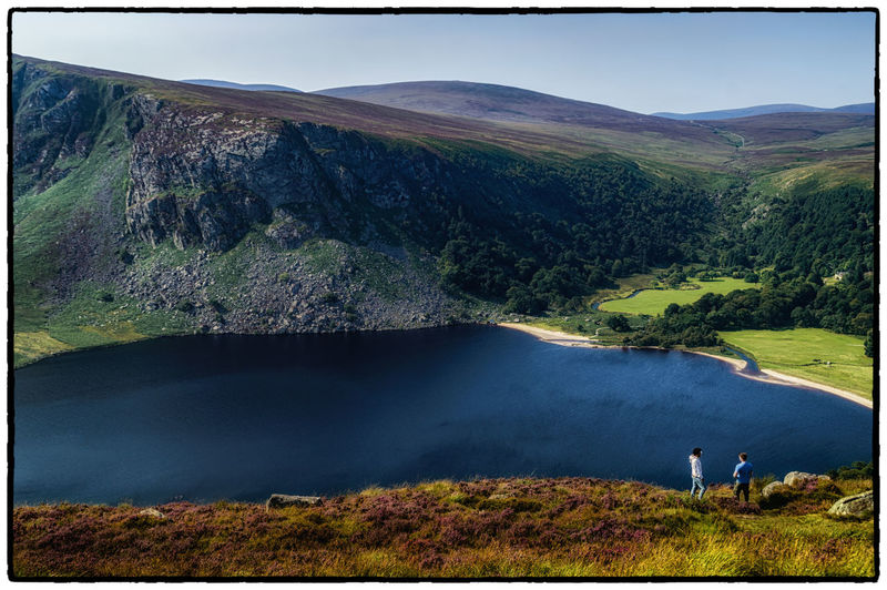 Beauty In Nature Countryside Dublin Mountains Green Color Hill Idyllic Ireland Irelandinspires Ireland🍀 Lake Landscape Lough Tay Lush Foliage Mountain Mountain Range Nature Non-urban Scene Remote Scenics Sky Tranquil Scene Tranquility Tree Water Wicklow