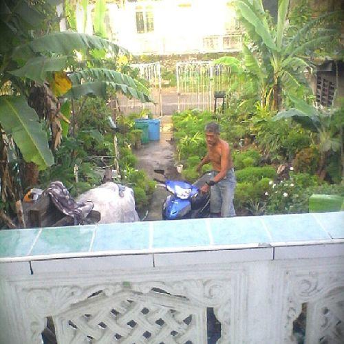 Ang among driveway mura najud ug garden ni papa, hohohoho Homebound TabogoN