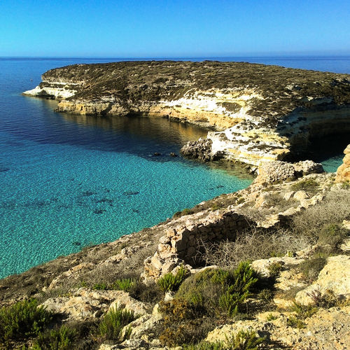 Sea Beach Lampedusa Iseland Sicily Italy Hollydays Colors Of Nature Summer Color Whatercolor Whaterpool