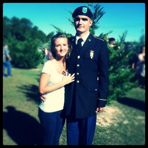 My MCM Mylove MyMan Mysuga mybestfriend I love youu so much, im so proud of you ! mysoldier 😊😍💚💚😘 @justin_melick