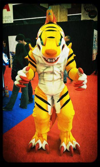Paris Games Week ... Catsuit Videogaming Paris Expo ... so dope