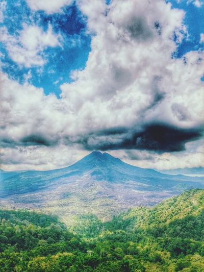 Nature Beauty In Nature EyeEm Nature Lover Nature_collection Mountain View Landscape_Collection Clouds And Sky Volcano Landscapes With WhiteWall Blue Wave