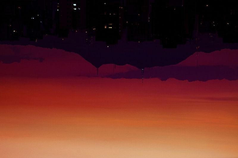 Nature On Your Doorstep Sunset Surrealism Surreal Sidereal Antenna Sky Gradient Nature Silhouette
