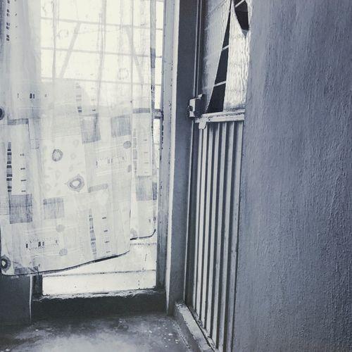 Pasillos y puertas IPhoneography Urban@ndante Monochrome