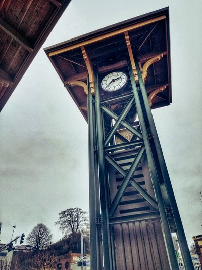 """"""" This is the Time """" ~ Lou Reed Fineartphotography Artphotography Clock Tower Low Angle View Day Architecture Built Structure No People Sky Outdoors"""