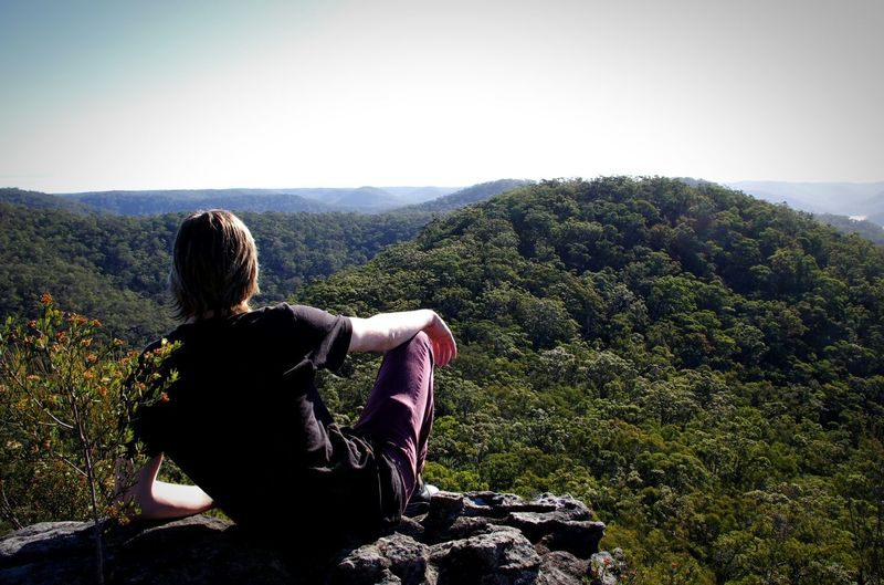 On Top Of The World Looking Out Serenity High Nature