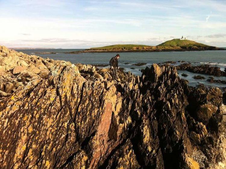 Ballycotton With Bestfriend Irlandia Lighthouse Irish Sea Cliffs