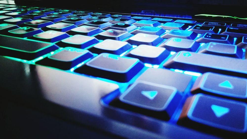 Keybord Colour Almostweekend