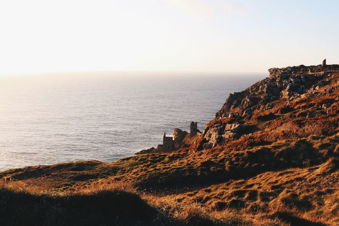 Golden Hour, Botallack Botallack Cornwall Mine Mining Cliffs Sea Goldenhour Vscocam