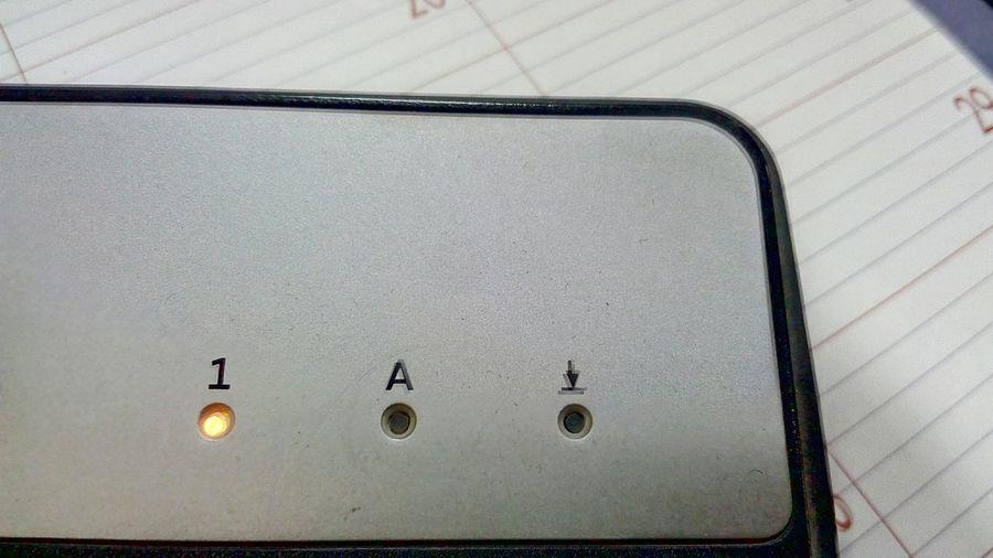 Indicating LEDs