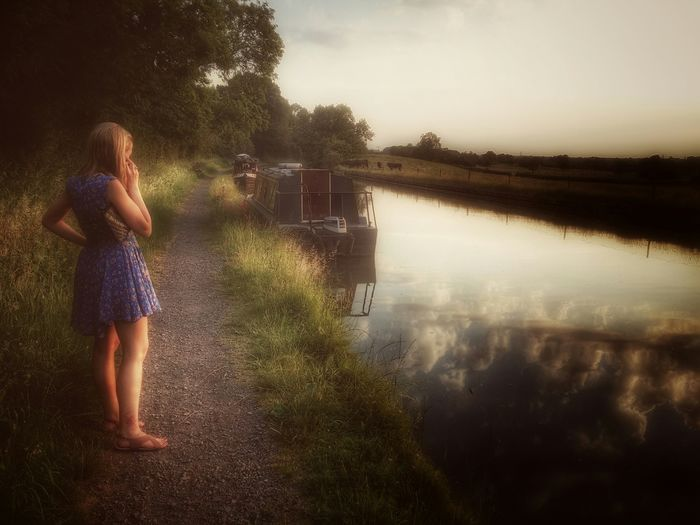 Outdoors Water Canal Canals Summer Mobilephotography Mobile Photography Countryside EyeEm Best Shots Capturing Freedom