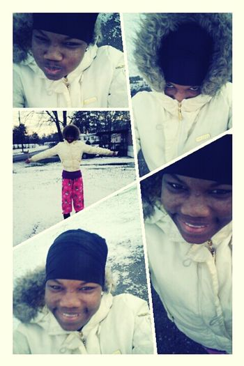 Meh In Tha Snow Pretty But Cold