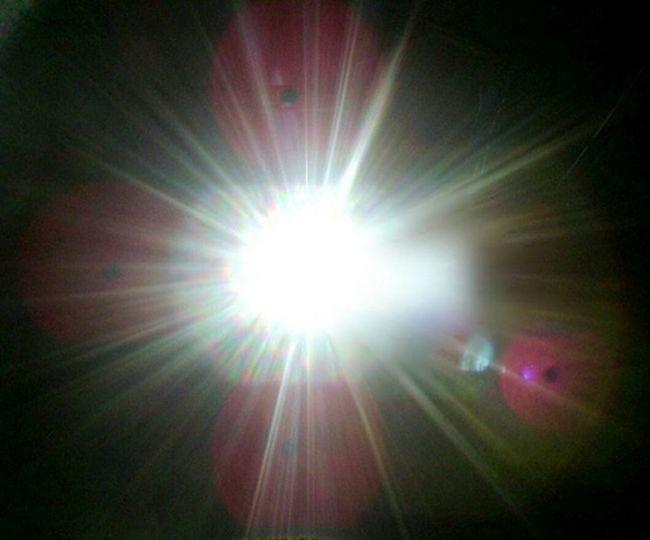 Sun orbs Sunshine Sun Orbs Sun Shining Through