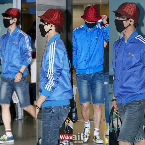 airport style today.. back to korea at incheon airport Fashion Style AirportStyle Yesung Prince  Perfect