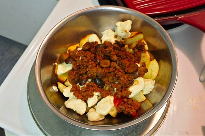 Poutine Italienne Poutine Italienne Italian Poutine Homemade Cuisine Cuisine Maison Enjoying A Meal Food Foodphotography