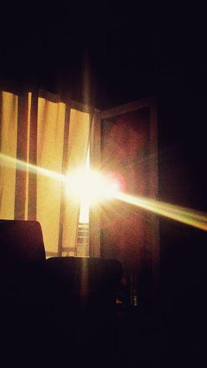Sunlight Window Close-up Streaming Sunbeam Sun Sky Only Sunset Evening Dramatic Sky