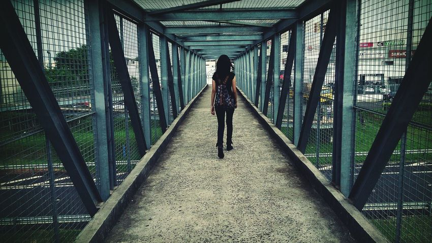 Taking Photos Check This Out People Photography People Of EyeEm Way Walking Alone... Walking Girl Touch Of Color
