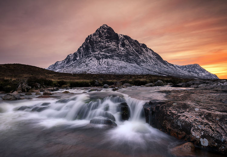 The Great Outdoors - 2017 EyeEm Awards Landscape Mountain Waterfall Scotland EyeEm Masterclass EyeEmNewHere EyeEm Best Edits EyeEm Best Shots Sunset_captures Glencoe, Scotland