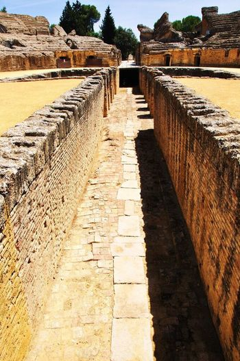 Ancient Roma Ancient Ruins Sevilla