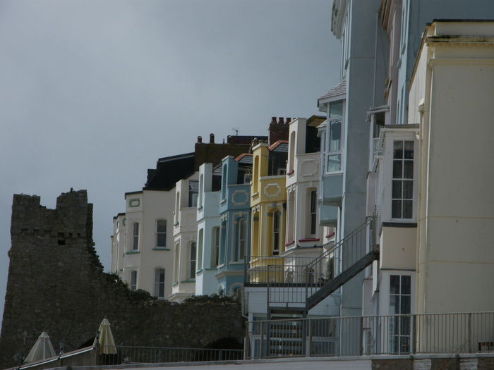 Architecture Balcony Building Exterior Built Structure City Day House Housing Development No People Outdoors Residential Building Sky Window Tenby Pembrokeshire Coastal Path Pembrokeshire Pembrokeshire Coast Painted Houses Low Angle View Seaside Town Seaside