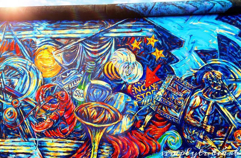 Berlin Berlinwall Sun Colorful Nofilter