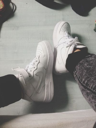 Mes bbs.?? Nike Air Force 1 Love Amoureuse