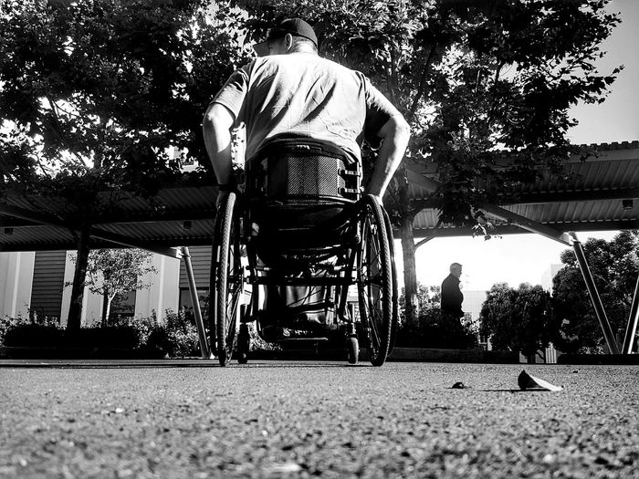 Gimpin and Pimpin at the VA in LBC Personal Perspective That's Me Streets Photography Is My Therapy Perspective ForTheLoveOfPhotography Outdoors From My Point Of View Eye4photography  Black And White Veterans Disabled Disabled Veteran Disability Not Inability Eyeemphotography Fine Art EyeEm Wheelchairs Rolling Pivotal Ideas