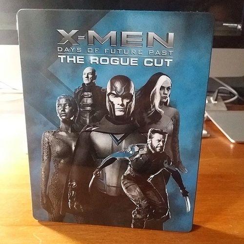 Arrivage Bluray du weekend : le coffret Steelbox @fnac des Xmen DoFP Roguecut Marvel