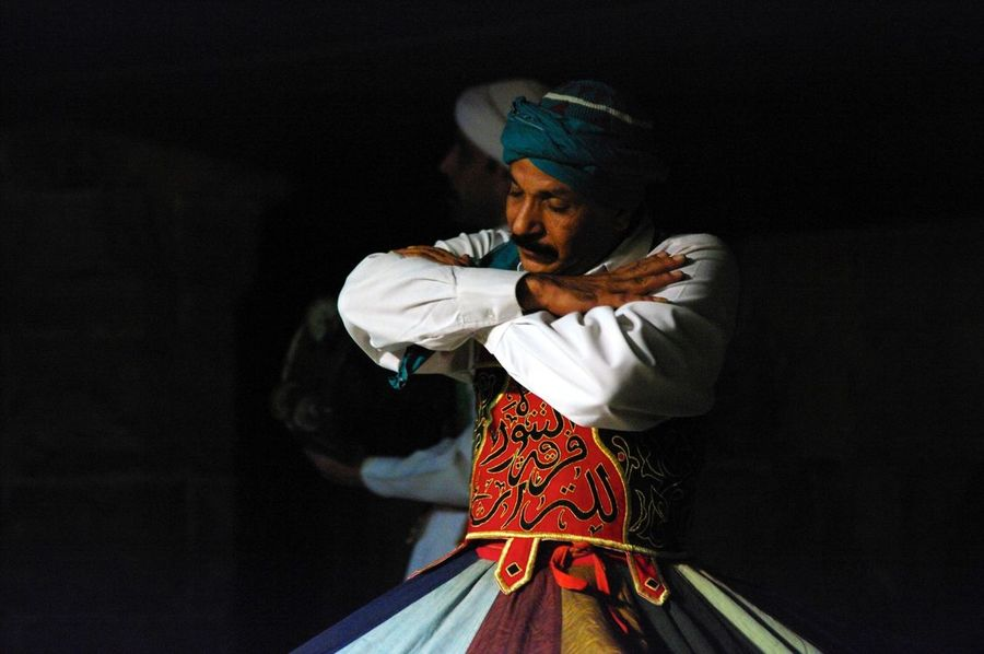 Egypt Egyptian-Faces Derwish Dance
