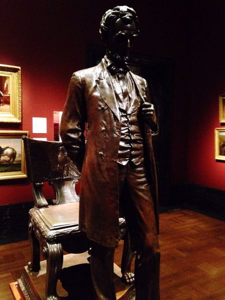 Detroit Institute Of Art Taking Photos Hanging Out Enjoying Life Love Art Beautiful Abraham Lincoln Statue
