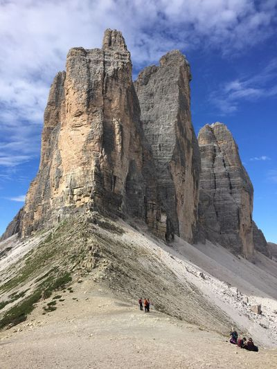 View of buttes in sesto