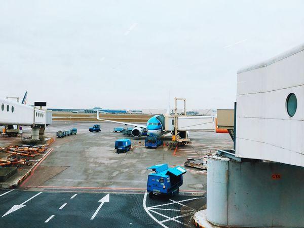 Город в городе - аэропорт Амстердама Amsterdam Airport Airplane KLM