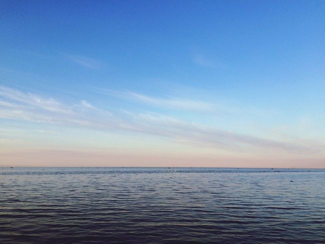 Sea Water Horizon Over Water Waterfront Beauty In Nature Seascape Sky Blue Nature Calm Cloud Tourism