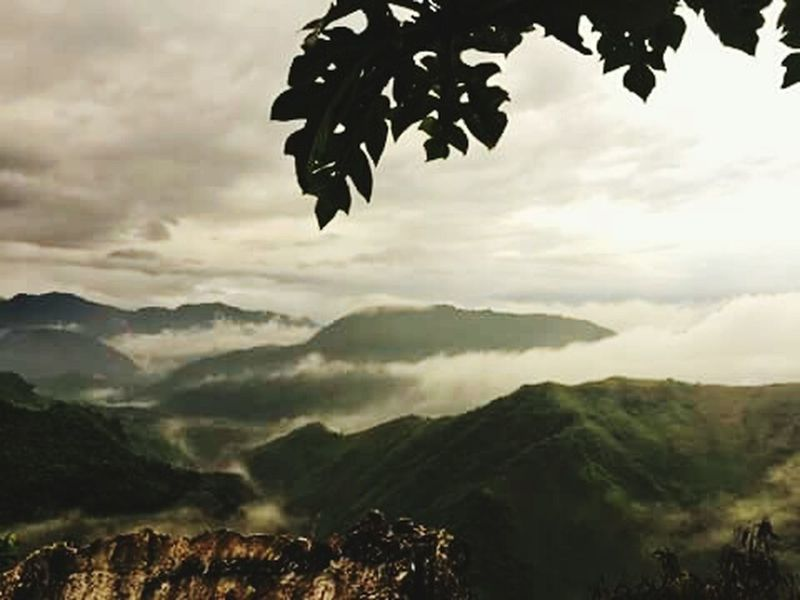 Clouds And Sky Variation Fog Mountain View Beautiful Creation WondersOfNature Wonderful View Beauty In Nature